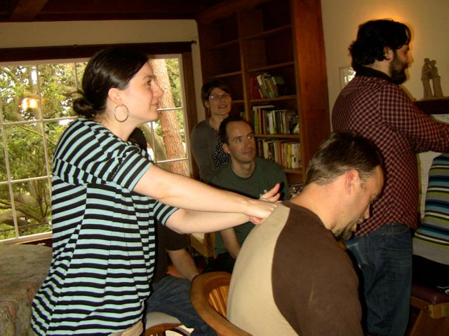 Retreat massage